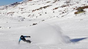 Backcountry Skiing-Val Thorens, Les Trois Vallées-Backcountry skiing in Val Thorens, Alps-1