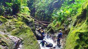 Canyoning-La Soufrière-Canyon de Vauchelet à Basse-Terre, Guadeloupe-5