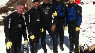 Ice Diving-La Quillane-Ice Diving in La Quillane, Eastern Pyrenees-2