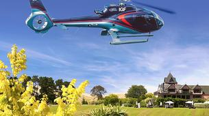 Helicopter tours-Christchurch-Canterbury Vineyard Tour, Helicopter Flight with Lunch and Wine Tasting-6