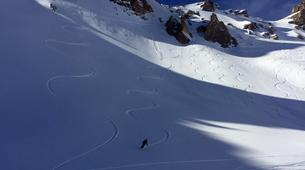 Freeride-Val Cenis, Haute Maurienne-Off Piste Skiing in Val Cenis, French Alps-6