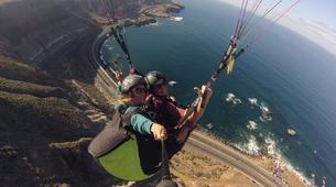 Paragliding-Gran Canaria-Tandem paragliding in Playa de las Canteras, Gran Canaria-13