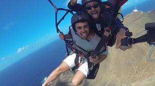 Paragliding-Gran Canaria-Tandem paragliding in Playa de las Canteras, Gran Canaria-11