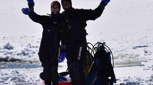 Ice Diving-La Quillane-Ice Diving in La Quillane, Eastern Pyrenees-5