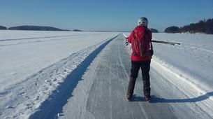 Ice Skating-Linnansaari National Park-Ice Skating Course in Oravi-1
