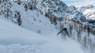 Ski Touren-Bled-Skitourengehen in den Julischen Alpen bei Bled-2