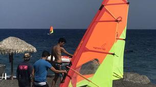 Windsurfing-Santorini-Windsurfing for beginners in Santorini-4