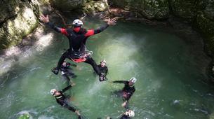 Canyoning-Lake Garda-Intermediate Canyoning Tour in Vajo dell'Orsa Canyon near Lake Garda-6
