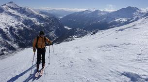 Ski Touren-Bled-Skitourengehen in den Julischen Alpen bei Bled-4