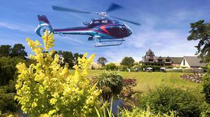 Helicopter tours-Christchurch-Canterbury Vineyard Tour, Helicopter Flight with Lunch and Wine Tasting-1