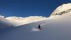 Freeride-Val Cenis, Haute Maurienne-Off Piste Skiing in Val Cenis, French Alps-1