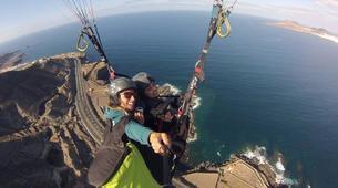 Paragliding-Gran Canaria-Tandem paragliding in Playa de las Canteras, Gran Canaria-9