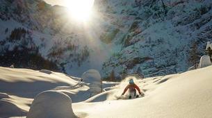 Ski Touren-Bled-Skitourengehen in den Julischen Alpen bei Bled-5