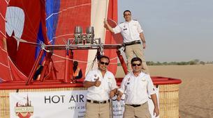 Montgolfière-Dubai-Hot Air Balloon Flight in Dubai-3
