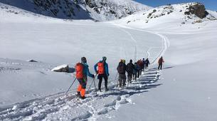 Raquetas de nieve-Sofia-Guided Snowshoeing Excursion on Vitosha Mountain near Sofia-2