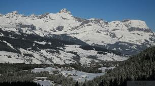 Raquette à Neige-Val d'Arly-Randonnée Raquettes à Praz-sur-Arly, Haute-Savoie-6