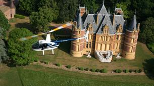 Helicoptère-Lyon-Vol en Hélicoptère au-dessus du Beaujolais près de Lyon-1