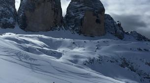 Esquí de travesía-Cortina d'Ampezzo-Backcountry Ski Tour in Tre Cime di Lavaredo near Cortina d'Ampezzo-2