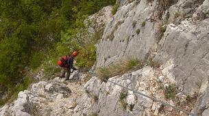 "Via Ferrata-Lake Garda-Extreme Via Ferrata ""The Smugglers Path"" in Lake Garda-3"