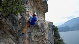 Via Ferrata-Lake Garda-Intermediate Via Ferrata Cima Capi in Lake Garda-1