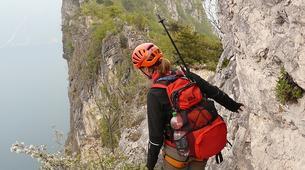 Via Ferrata-Lake Garda-Intermediate Via Ferrata Cima Capi in Lake Garda-4