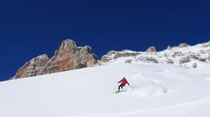 Esquí de travesía-Cortina d'Ampezzo-Backcountry Ski Tour in Tre Cime di Lavaredo near Cortina d'Ampezzo-5