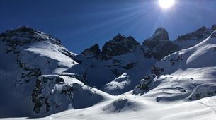 Raquetas de nieve-Sofia-Guided Snowshoeing Excursion on Vitosha Mountain near Sofia-4