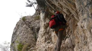 Via Ferrata-Lake Garda-Intermediate Via Ferrata Cima Capi in Lake Garda-5