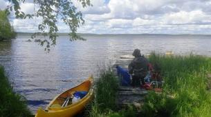 Kayak-Rovaniemi-Canoeing through the Wilderness in Lapland, Finland-1