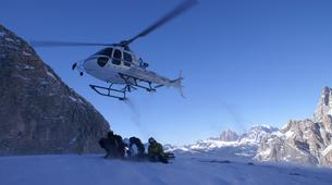 Heliesquí-Cortina d'Ampezzo-Heli-Skiing in the Dolomites near Cortina d'Ampezzo-2