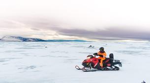Snowmobiling-Gullfoss-Snowmobiling Langjökull Glacier, from Gullfoss-6