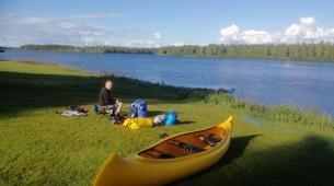 Kayak-Rovaniemi-Canoeing through the Wilderness in Lapland, Finland-6