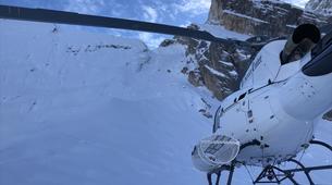 Heliesquí-Cortina d'Ampezzo-Heli-Skiing in the Dolomites near Cortina d'Ampezzo-5