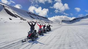 Snowmobiling-Svalbard-Summer Snowmobiling and Hiking in Svalbard, Norway-1