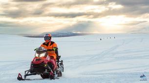Snowmobiling-Gullfoss-Snowmobiling Langjökull Glacier, from Gullfoss-5
