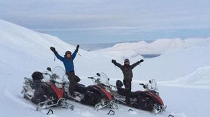Snowmobiling-Svalbard-Summer Snowmobiling and Hiking in Svalbard, Norway-5
