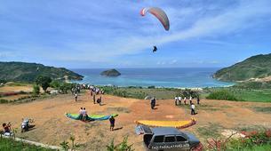 Paragliding-Lombok-Tandem Paragliding Flight in Kuta, Lombok-3