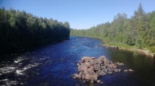 Kayak-Rovaniemi-Canoeing through the Wilderness in Lapland, Finland-5