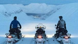 Snowmobiling-Svalbard-Summer Snowmobiling and Hiking in Svalbard, Norway-4