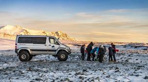 Snowmobiling-Gullfoss-Snowmobiling Langjökull Glacier, from Gullfoss-3