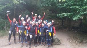 Canyoning-Ardèche-Canyon de la Basse Besorgues en Ardèche-1