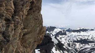 Mountaineering-Bessans, Haute Maurienne-Mountaineering in the Albaron Pass in Bessans, French Alps-6