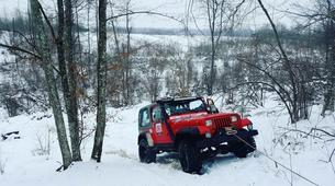 4x4-Karlovac-Off-Road Jeep Tour in Kamensco near Karlovac-2