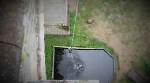 Bungee Jumping-Exermont-Water Touch Bungee Jump from Exermont Viaduct near Verdun-1