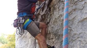 Escalade-Ardèche-Initiation Escalade dans les Gorges de l'Ardèche-3