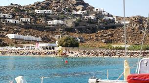 Sailing-Mykonos-All Inclusive Sailing Yacht Cruise to South Mykonos Beach, Rhenia & Delos Islands-3