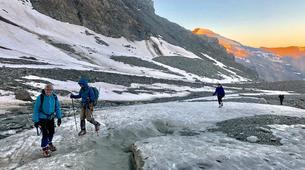 Mountaineering-Bessans, Haute Maurienne-Beginner Glacier Mountaineering in Bessans, French Alps-1