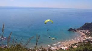 Paragliding-Corfu-Tandem paragliding flight in Corfu-6