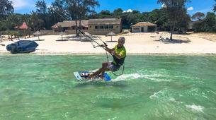 Kitesurf-Praia do Bilene-Kitesurfing Lessons on Bilene Lagoon-1