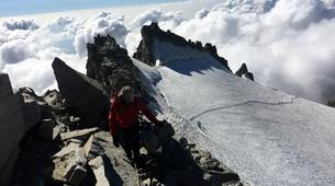 Mountaineering-Bessans, Haute Maurienne-Mountaineering in the Albaron Pass in Bessans, French Alps-2